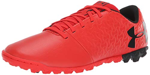 (Under Armour Magnetico Select JR Turf Soccer Shoe, 600/Radio Red, 5.5)