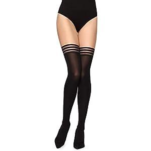 Merry Style Collant Autofixant Lingerie Sexy Sous-vêtements Femme MS 216