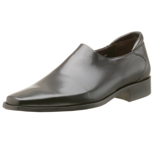 Donald J Pliner Men's Rex Slip-on, Black Nappa Stretch, 9.5 M