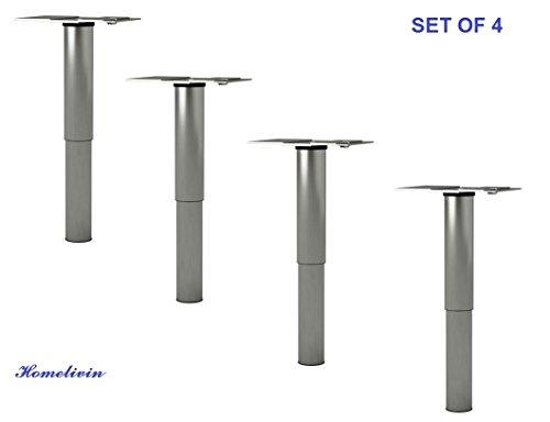 stainless steel adjustable legs - 9