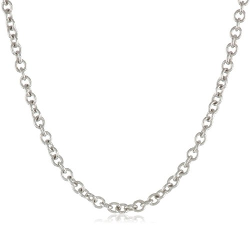 Sterling Silver Round Rolo - 5