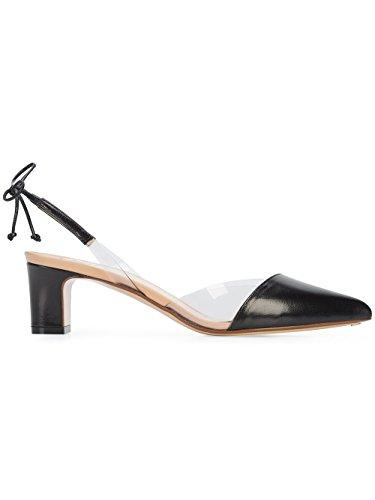 RUSSO Noir FRANCESCO Femme Chaussures Cuir Talons À R1P355200 S7HdnUwWcH