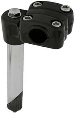 Black 22.2mm Alloy //Steel BMX CRUISER MTB TOP LOAD 4-Bolt Quill Stem