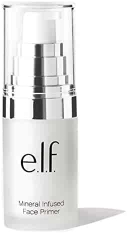 e.l.f. Mineral Infused Face Primer for use as a Foundation for Your Makeup, Redefines your Complexion, .47 Ounces