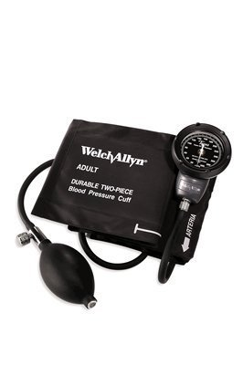 Welch Allyn DS48A Tyco's Model DS48 Pocket Aneroid Sphygmomanometer with DuraShock Gear Free, Super Shock Resistant Technology, Gauge Only