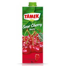 Tamek Sour Cherry Nectar Visne Suyu, 1L - 33.8 FL Oz. Pack of (Cherry Nectar)