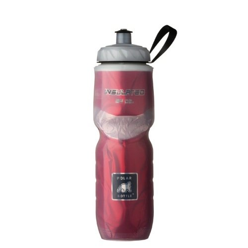 Polar Bottle Insulated Water Bottle (24-Ounce) (Red <3)