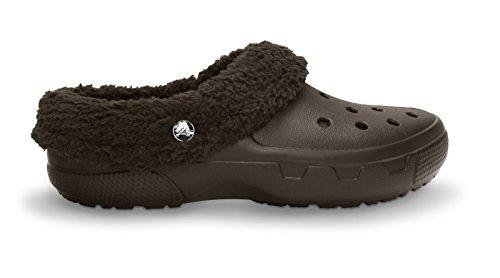 [crocs Unisex Mammoth EVO Lined Clog,Espresso/Espresso,8 M US] (Croc Yellow Leather)