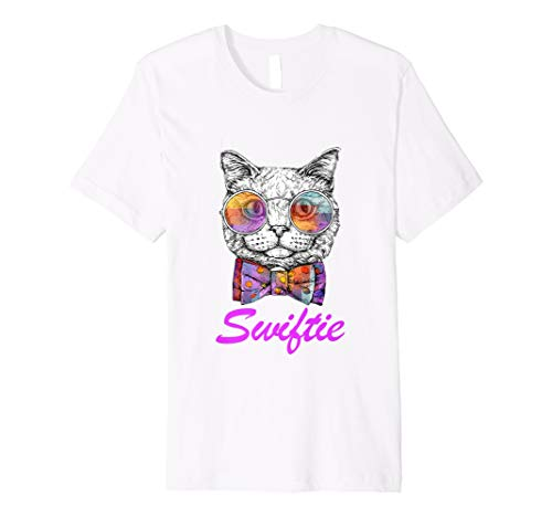 Taylor White Cat T-Shirt Swift Cat For Swift Real Fans