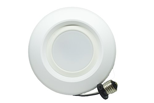 6 Inch 13W Recessed Downlight , LED Dimmable Retrofit Kit,Smooth Trim, 3000K,UL LISTED , Energy Star , 1200 Lumens, 5 Year Warranty , 60 PACK by EZ In Touch With Tomorrow (Image #1)