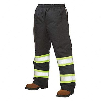 Work King High Visibility Pants Black Unisex