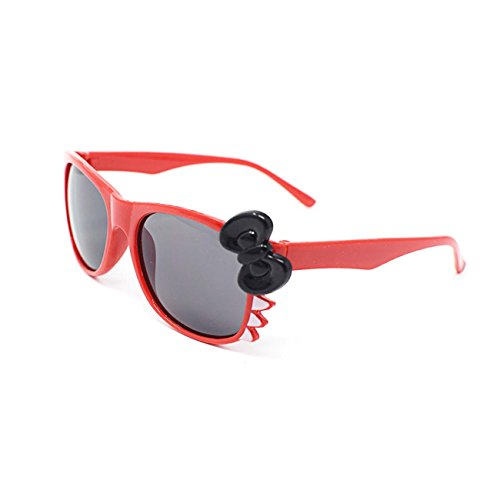Cheap Costume Ideas Book Characters (Red with Black Bow Cute 3D Cat Whiskers with Bow Multi Color Costume Play Cos Play Glasses for Children Kids Lens Bunny Heart Bow Frames)