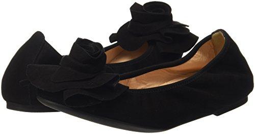Ballet Platino Flats Women''s Closed Black Ayear Unisa ks Toe black qw4HzOxnx