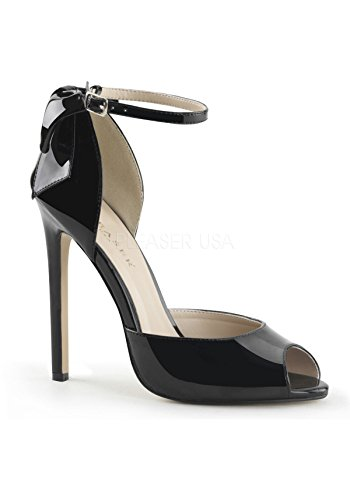Pleaser - Zapatos de vestir para mujer 44 Blk Pat