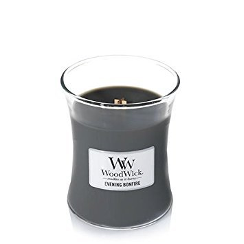 - Woodwick Candle, Medium, Evening Bonfire (92488)