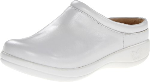 Alegria Women's Kayla Shoes, White Patent - 35 M EU / 5-5.5 B(M) US
