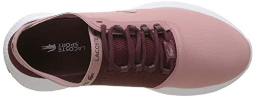 Blanc 3 para 318 Mujer Lacoste Lt Zapatillas 3t9 Burg Pnk Rosa SPW Fit 6tYxxPqHw