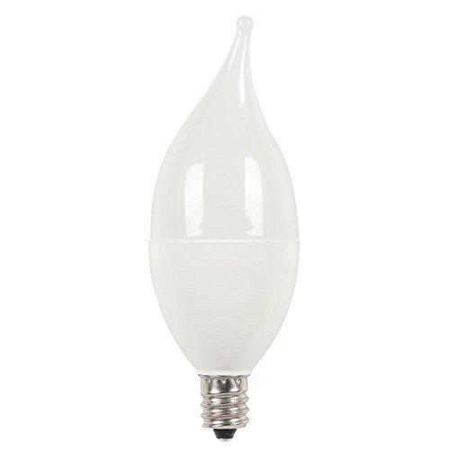 (Westinghouse Lighting 0512200 40W Equivalent C11 Soft White LED Light Bulb with Candelabra Base)