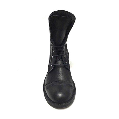 Shoe Anfibi Donna gar Neri Nabuk Stivaletti Nero in p7rqpB6