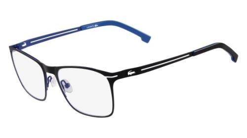 LACOSTE Eyeglasses L2220 001 Matte Black (Lacoste Black Eyeglasses)