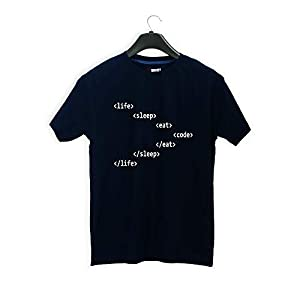 T-shirt Truck Developer Tshirts Printed T-Shirt for Men & Women | Code | Debug Programmer Tshirts | Coding Tshirt | Half…