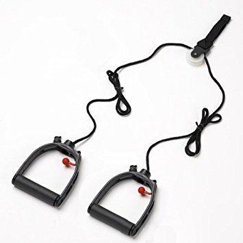 Lifeline Multi-Use Shoulder Pulley, Black, Standard, Without Metal Bracket