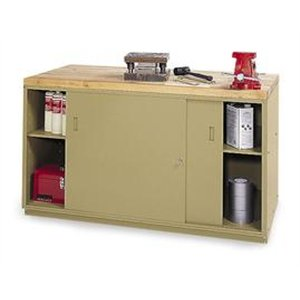 "Sliding Doors For Modular Workbenches - For 60"" Cabinet"
