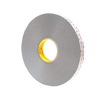 3M VHB Tape 4941 Gray 3 Inch x 36 Yard 45.0 Mil (1-Roll)