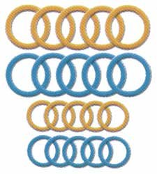 Clover Needlecrafts Bulk Buy Soft Jumbo Stitch Ring Markers 20 Pack 3108 (3-Pack)