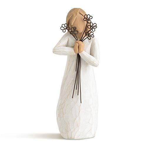 Willow Tree Friendship Hand Painted Sculpture Figure