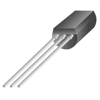 Fairchild Semiconductor BS170 Transistor, MOSFET, N Channel, 60 Volt, 0.5 Amp, 3 Pin, 5.33 mm H x 5.2 mm L x 4.19 mm W (Pack of 30)