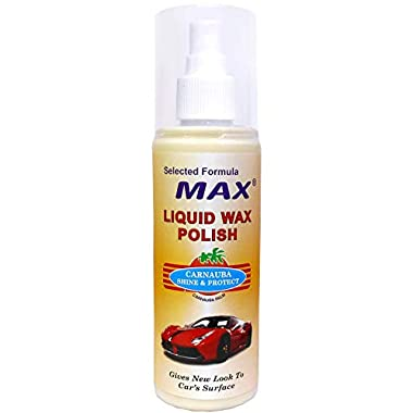 MAX Premium Car Care Kit (Pack of 6 Items - 200 ML Each and Foam 4 Pieces) 12