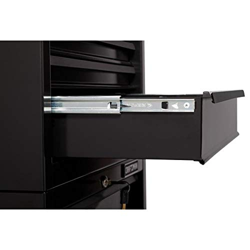 CRAFTSMAN 5-Drawer Ball-Bearing Steel Tool Chest Combo (Black) 1000 Series 26-in W x 44-in H by Craftsman (Image #3)