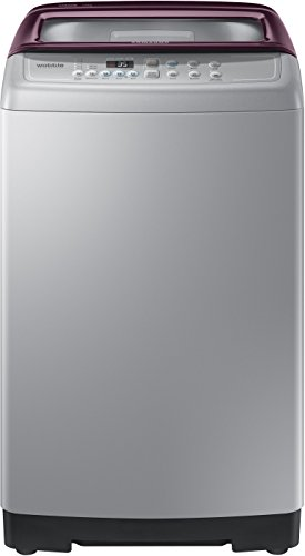 Samsung 7 kg Fully Automatic Top Loading Washing Machine  WA70M4300HP/TL, Imperial Silver, Wobble Technology
