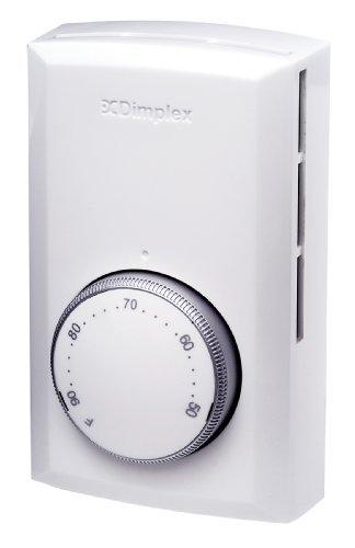 Dimplex #TD522W Line Voltage Thermostat DPST Switch by Dimplex