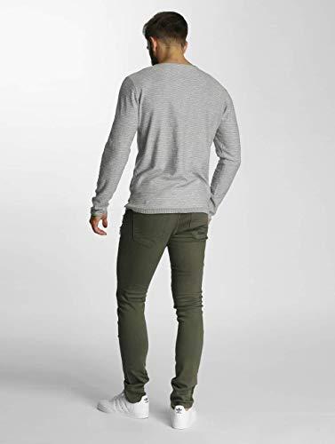 Savage Oliva Hombres Jeans 2Y Vaqueros Ajustado RIw41x