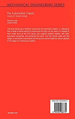 The Automotive Chassis Volume 2 System Design By Genta Giancarlo Morello L Amazon Ae