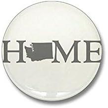 """CafePress - Washington Home Mini Button - 1"""" Round Mini Button"""
