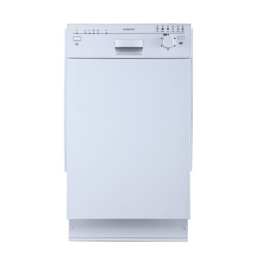 EdgeStar 18' Built-In Dishwasher - White