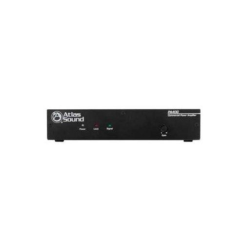 Atlas Sound PA40G 40W Single Channel Power Amplifier with Global Power - Single Atlas