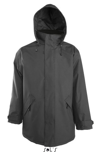 SOL´S - Parka River 3XL,Dark Grey (Solid)