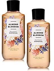 (Bath and Body Works 2 Pack Almond Blossom Shower Gel 10 Oz. )