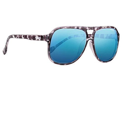 NECTAR Classic Plastic Aviator Sunglasses w/ Polarized Euphoric HD Lenses & UV Protection (Black Tortoise Shell Frames | Blue Mirror Euphoric HD Polarized - Tortoise Bans Ray Wayfarer Shell