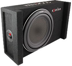 Kenwood eXcelon P-XW1000B 10' Subwoofer in Sealed Enclosure