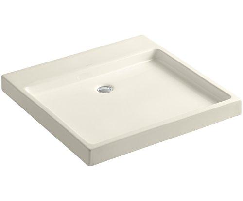 (KOHLER K-2314-47 Purist Wading Pool Bathroom Sink, Almond)