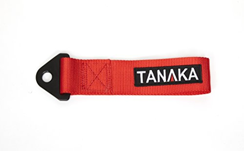 Tanaka High Strength Racing Tow Strap (Red)