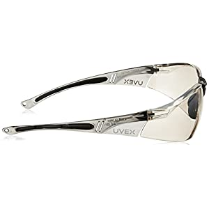 Howard Leight by Honeywell Sharp-Shooter HL804 Indoor/Outdoor Anti-Glare Shooting Glasses, Mirror Lens (R-01708)