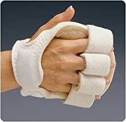 Rolyan Palm Protector with Finger Separators, Left - Model A81201