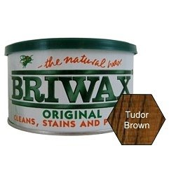 Briwax (Tudor Brown) Furniture Wax Polish, Cleans, stains, and polishes by Briwax