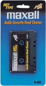 Maxell A403 Audio Cassette Cleaner (Discontinued by Manufacturer)